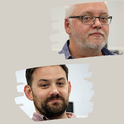 Zoom Room with Phil Hughes & Ted Wilkes, Oracles on the Narrative Structure of Scripts image