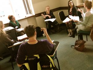 Actors' Table Read @ London Screenwriters' Festival 2013