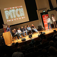 Pitching to a panel of experts at the LSF Ptch Factor