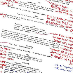 What filmmakers ACTUALLY do with your finished script – live script edit image