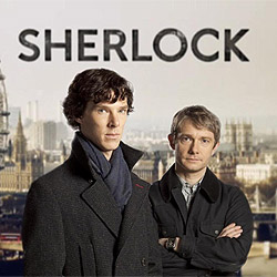7:00pm Sherlock: In Conversation with Mark Gatiss, Steven Moffat and Sue Vertue image