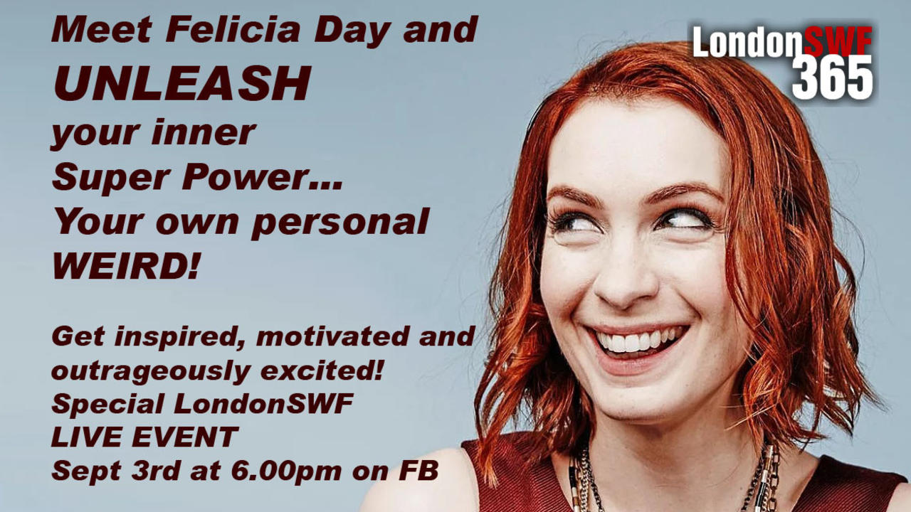 How Felicia Day Kept Me Inspired On My Quest To Be A Screenwriter London Screenwriters Festival