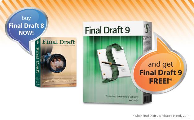 final draft 8 mac download